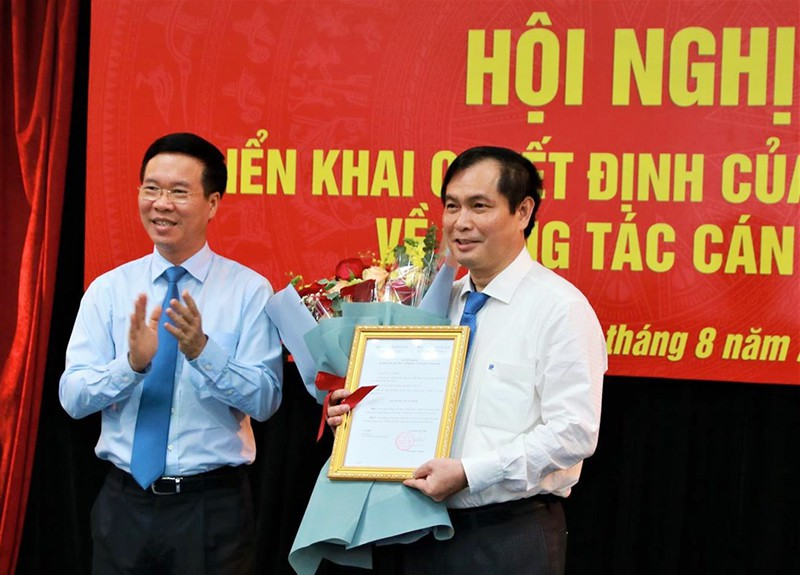 Ông Phan Xuân Thủy làm Phó Trưởng Ban Tuyên giáo Trung ương - ảnh 1