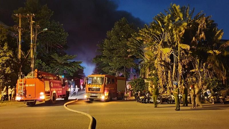 Vụ cháy trong KCN Tân Tạo: 4.000 m2 kho hàng bị thiêu rụi - ảnh 2