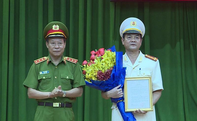 Giám đốc Công an TP.HCM được thăng hàm Thiếu tướng - ảnh 1