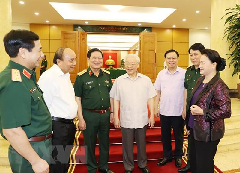 Bộ Chính trị cho ý kiến về đại hội 6 Đảng bộ trực thuộc TW - ảnh 2