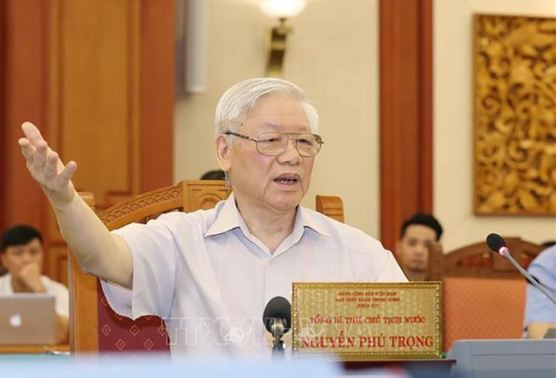 Bộ Chính trị cho ý kiến về đại hội 6 Đảng bộ trực thuộc TW - ảnh 1