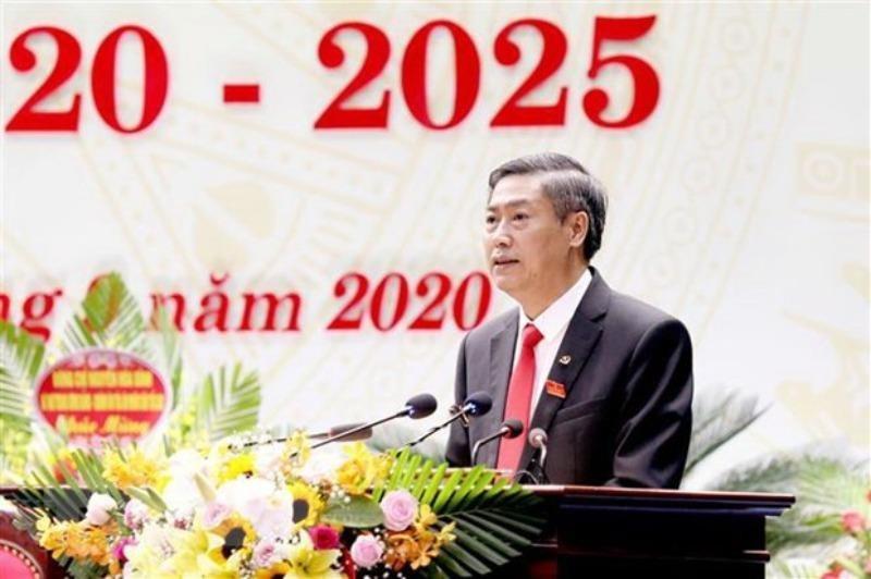 Ông Nguyễn Hữu Đông tái đắc cử Bí thư Tỉnh ủy Sơn La - ảnh 1
