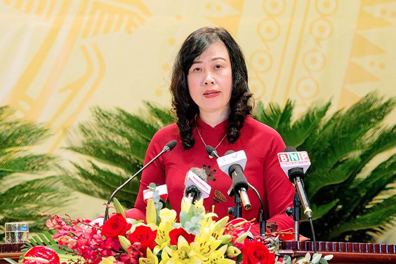 Bà Đào Hồng Lan làm Bí thư Tỉnh ủy Bắc Ninh nhiệm kỳ 2020-2025 - ảnh 1