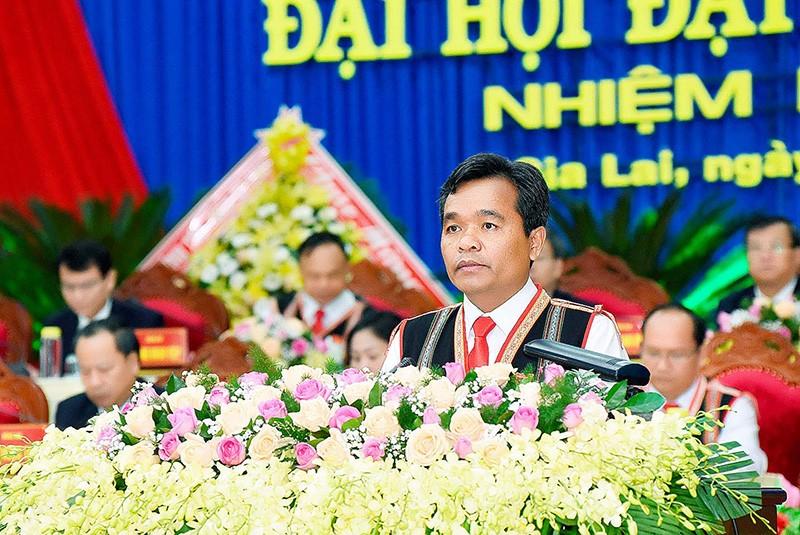 Ông Hồ Văn Niên giữ chức Bí thư Tỉnh ủy Gia Lai khoá XVI - ảnh 1