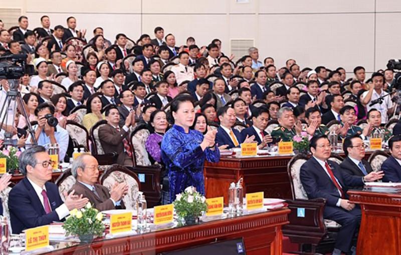 Khai mạc Đại hội đại biểu Đảng bộ tỉnh Hòa Bình lần thứ XVII - ảnh 1