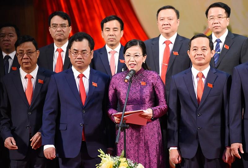 Bà Nguyễn Thanh Hải tái đắc cử Bí thư tỉnh ủy Thái Nguyên - ảnh 1