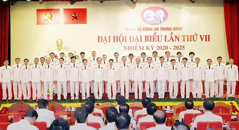 Bế mạc Đại hội Đảng bộ Công an Trung ương lần thứ VII - ảnh 1