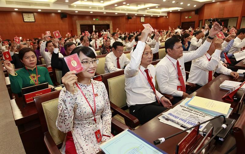 Một số hình ảnh phiên trù bị Đại hội Đảng bộ TP.HCM lần thứ XI - ảnh 4