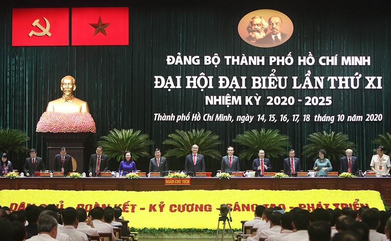Đại hội đại biểu Đảng bộ TP.HCM lần thứ XI họp phiên trù bị - ảnh 1