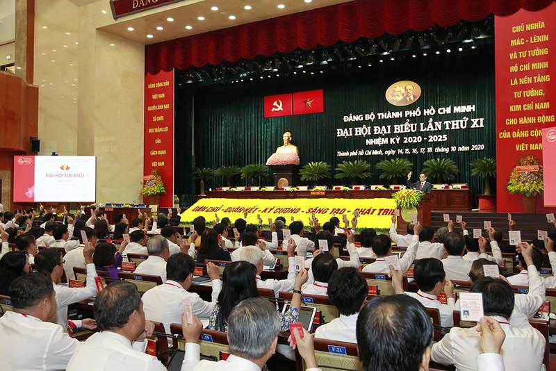 Một số hình ảnh phiên trù bị Đại hội Đảng bộ TP.HCM lần thứ XI - ảnh 1