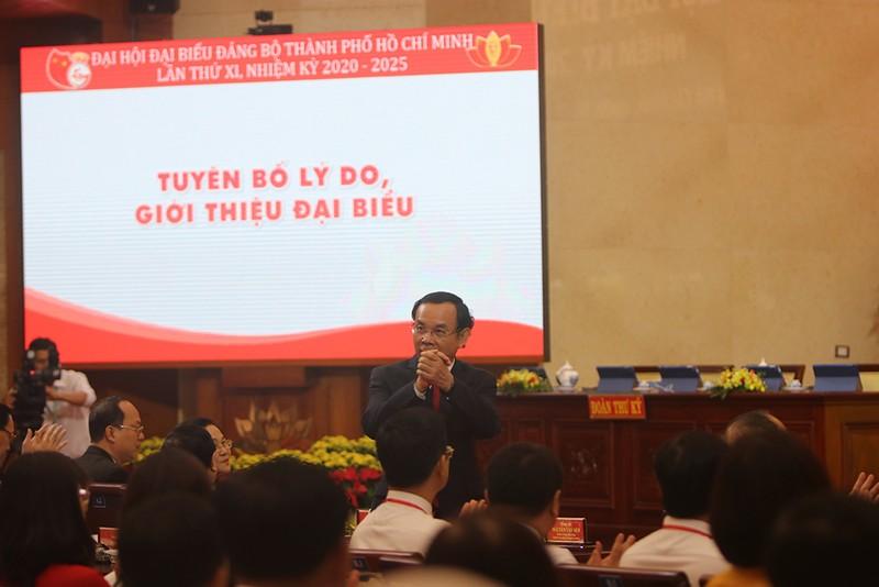 Một số hình ảnh phiên trù bị Đại hội Đảng bộ TP.HCM lần thứ XI - ảnh 3