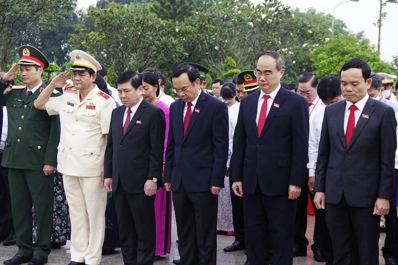 Đại hội đại biểu Đảng bộ TP.HCM lần thứ XI họp phiên trù bị - ảnh 3