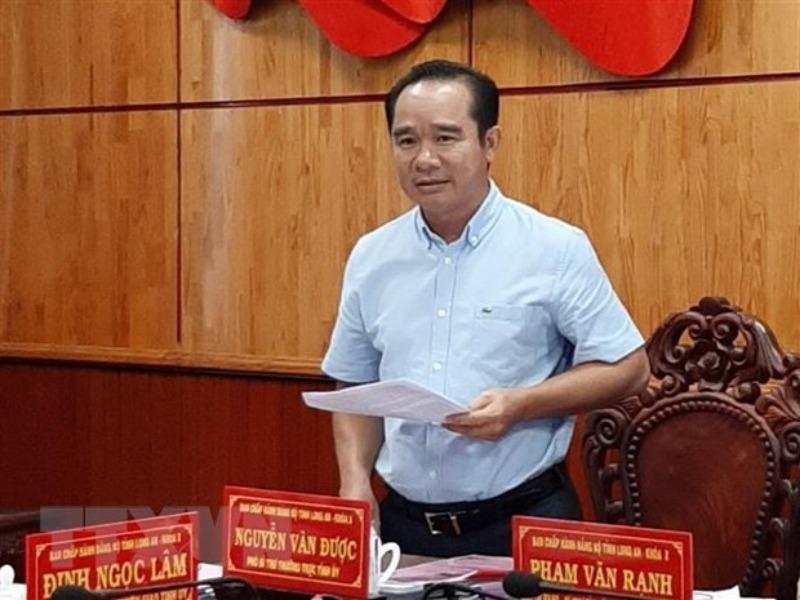 Ông Nguyễn Văn Được được bầu giữ chức Bí thư Tỉnh ủy Long An - ảnh 1