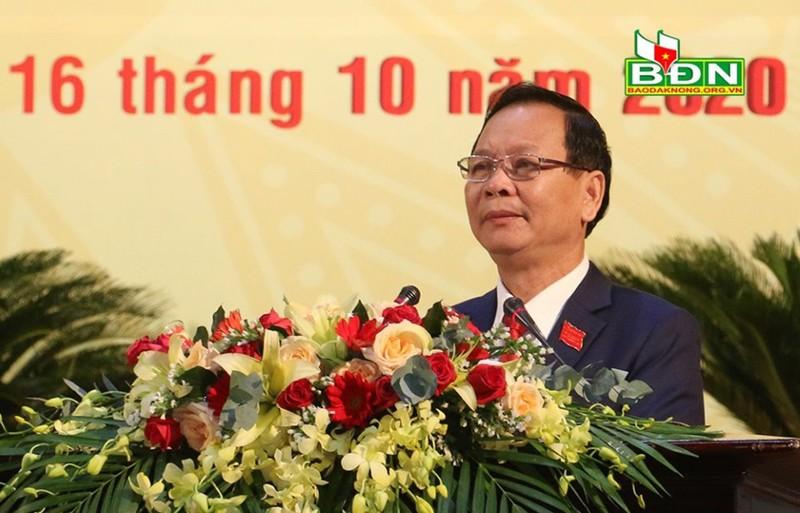 Đắk Nông có tân Bí thư Tỉnh ủy nhiệm kỳ 2020 - 2025 - ảnh 1