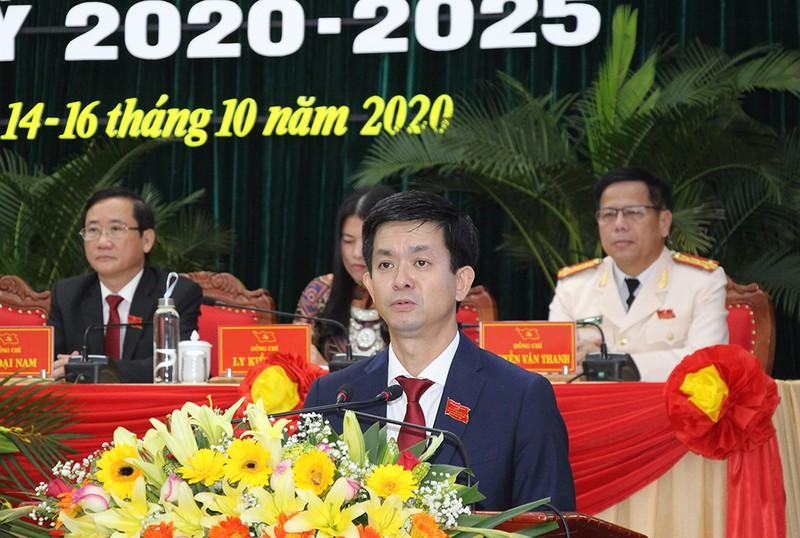 Ông Đặng Quốc Khánh tiếp tục làm Bí thư Tỉnh ủy Hà Giang - ảnh 2