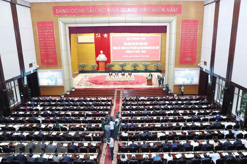 Tổng bí thư, chủ tịch nước chủ trì Hội nghị cán bộ toàn quốc - ảnh 7