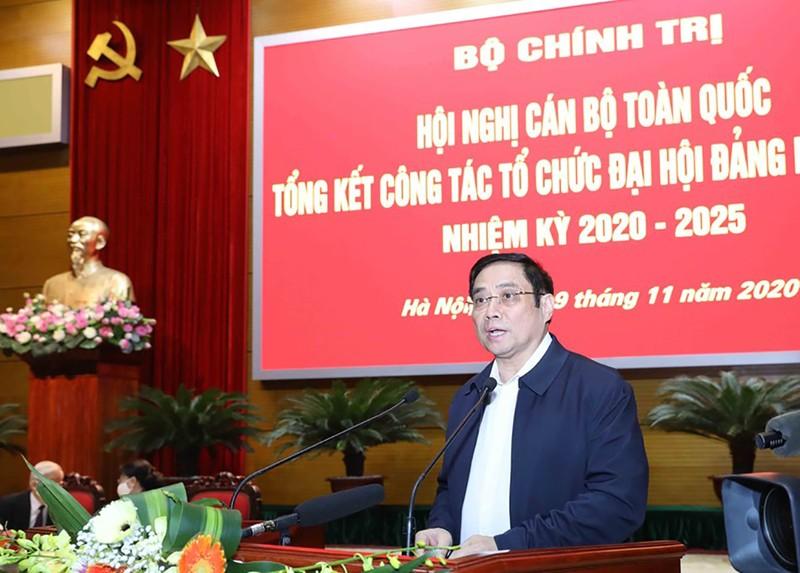 Tổng bí thư, chủ tịch nước chủ trì Hội nghị cán bộ toàn quốc - ảnh 6
