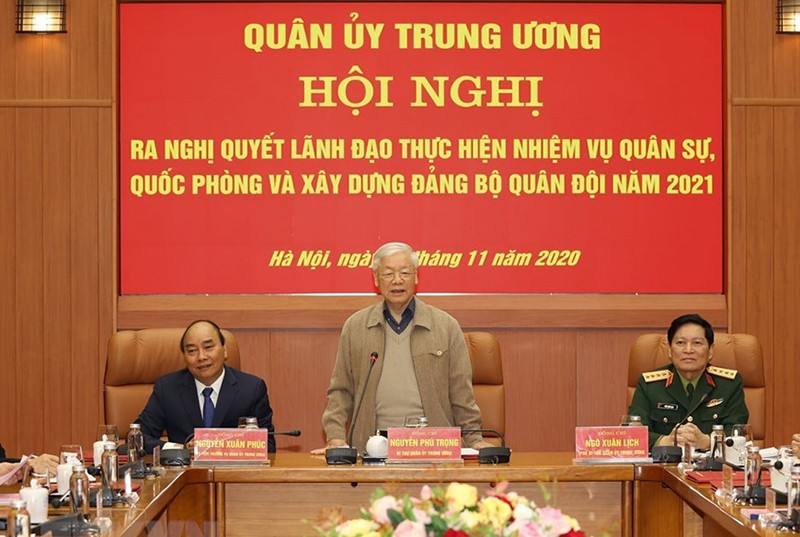 Tổng Bí thư, Chủ tịch nước chủ trì Hội nghị Quân ủy Trung ương - ảnh 1