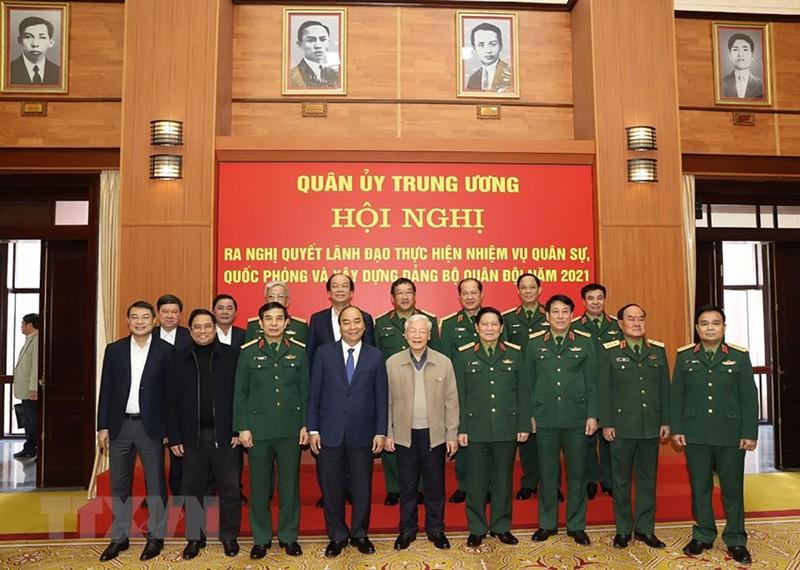 Tổng Bí thư, Chủ tịch nước chủ trì Hội nghị Quân ủy Trung ương - ảnh 2
