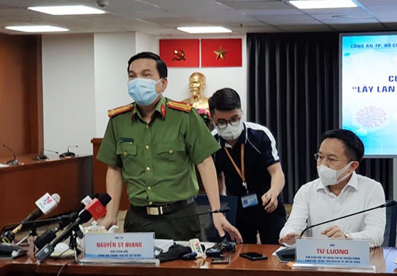 Công an TP.HCM nói về khởi tố vụ tiếp viên làm lây lan COVID - ảnh 1