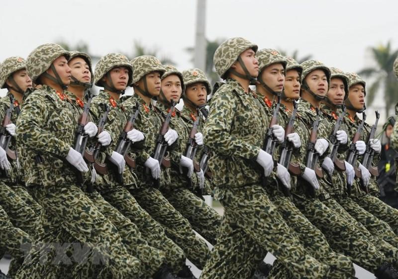 Chùm ảnh: Lễ xuất quân, diễn tập phương án bảo vệ Đại hội Đảng - ảnh 8