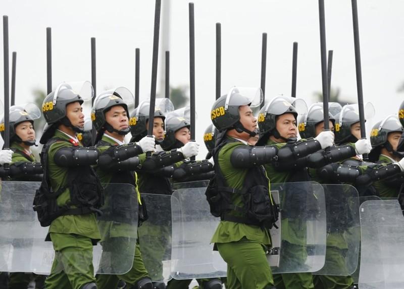 Chùm ảnh: Lễ xuất quân, diễn tập phương án bảo vệ Đại hội Đảng - ảnh 9
