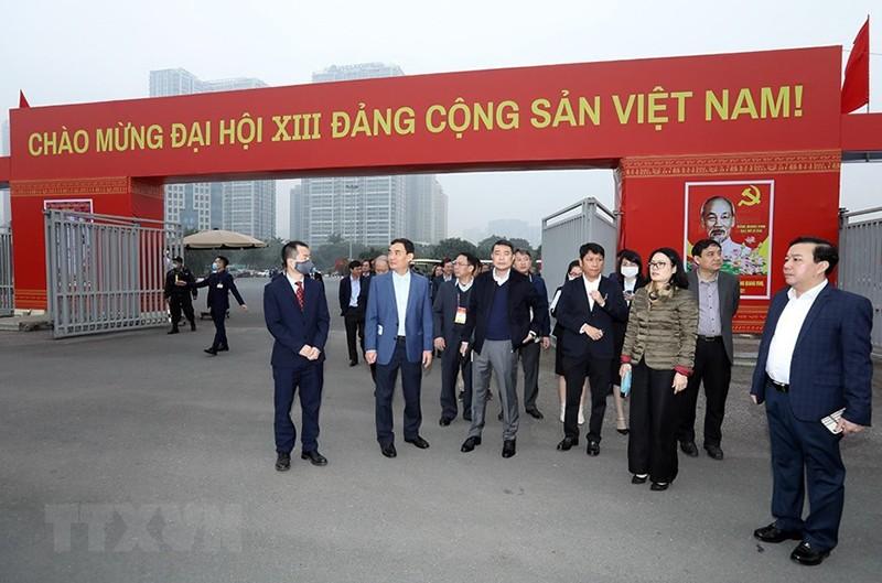Trung tâm Báo chí Đại hội XIII sẵn sàng cho ngày khai trương - ảnh 2