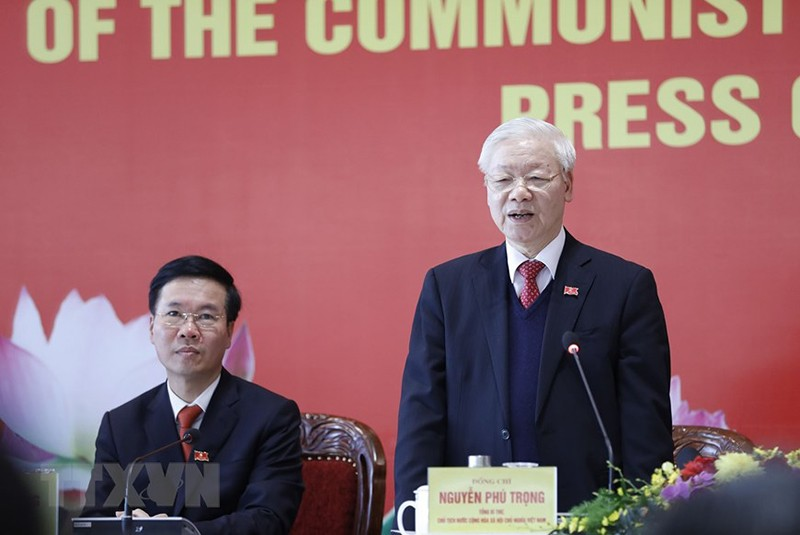 Tổng bí thư Nguyễn Phú Trọng trả lời tại họp báo sau Đại hội  - ảnh 3