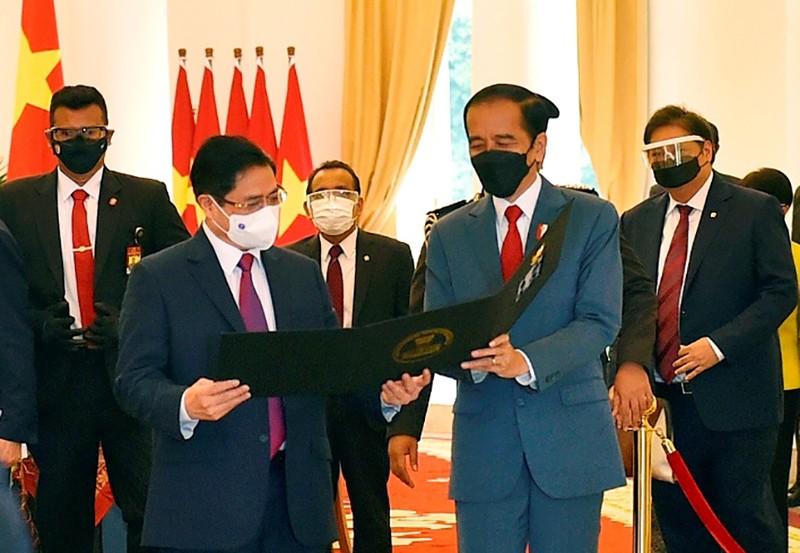 Hình ảnh chuyến công du đầu tiên của Thủ tướng Phạm Minh Chính - ảnh 5