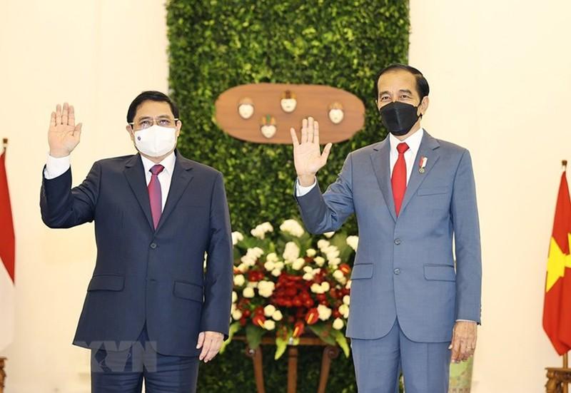 Hình ảnh chuyến công du đầu tiên của Thủ tướng Phạm Minh Chính - ảnh 2