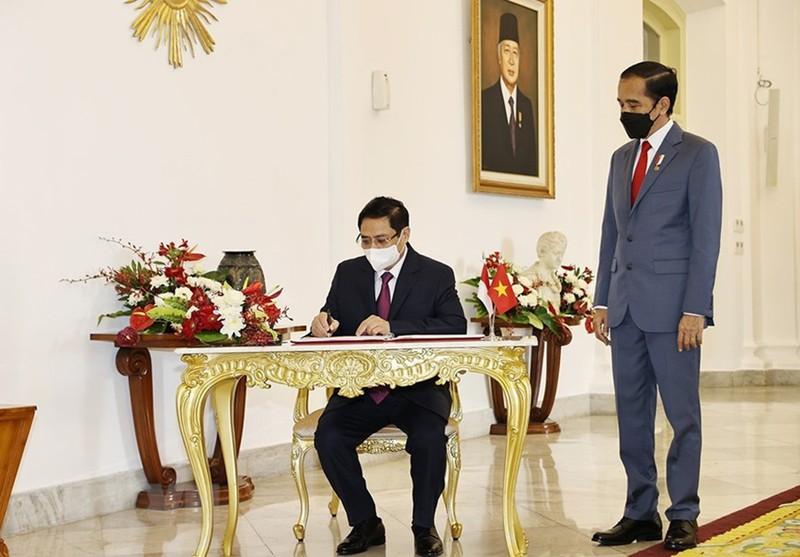 Hình ảnh chuyến công du đầu tiên của Thủ tướng Phạm Minh Chính - ảnh 3