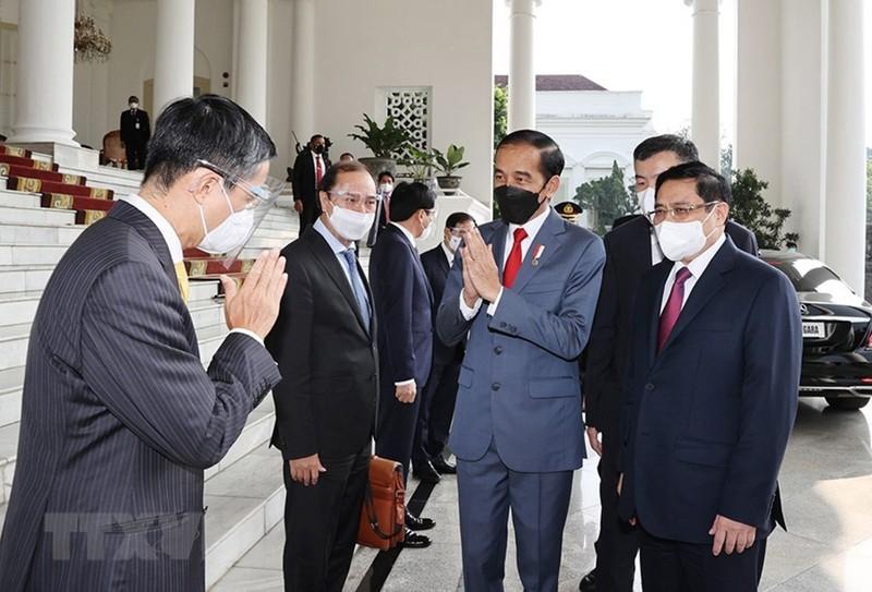 Hình ảnh chuyến công du đầu tiên của Thủ tướng Phạm Minh Chính - ảnh 6