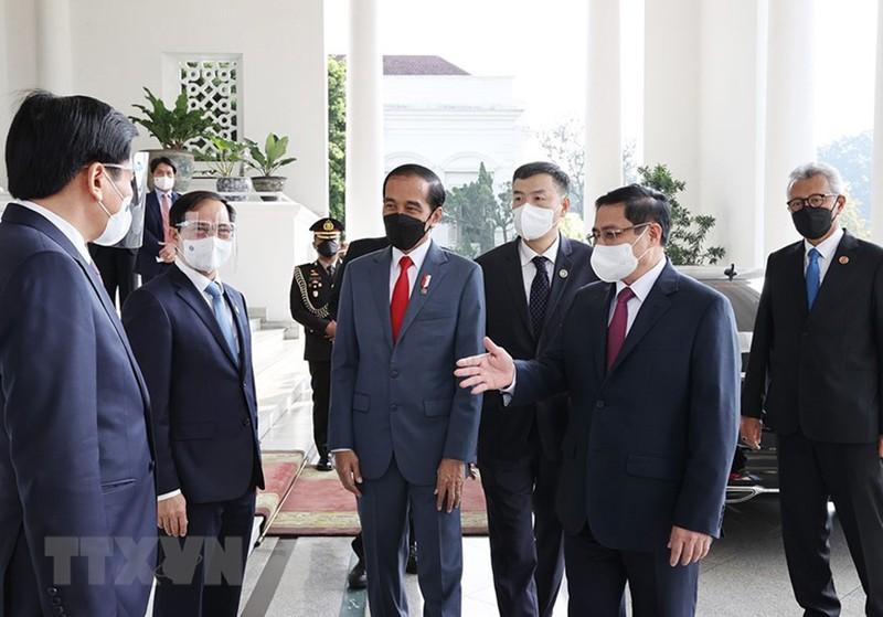 Hình ảnh chuyến công du đầu tiên của Thủ tướng Phạm Minh Chính - ảnh 7