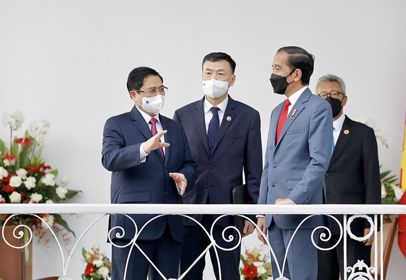 Hình ảnh chuyến công du đầu tiên của Thủ tướng Phạm Minh Chính - ảnh 9