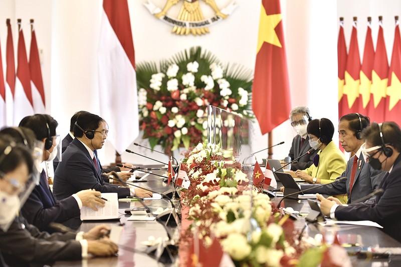 Hình ảnh chuyến công du đầu tiên của Thủ tướng Phạm Minh Chính - ảnh 4