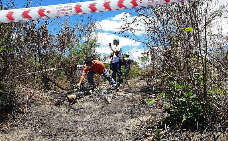 Công an Bình Thuận tìm tung tích nạn nhân vụ thi thể bị cháy - ảnh 1