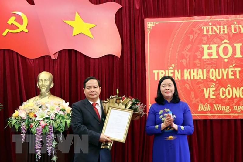 Bộ Chính trị phân công, điều động nhân sự mới tỉnh Đắk Nông - ảnh 1