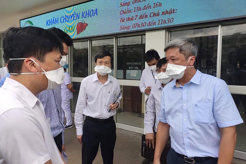 Bộ Y tế lập Bộ phận Thường trực đặc biệt hỗ trợ chống dịch tại TP.HCM - ảnh 1