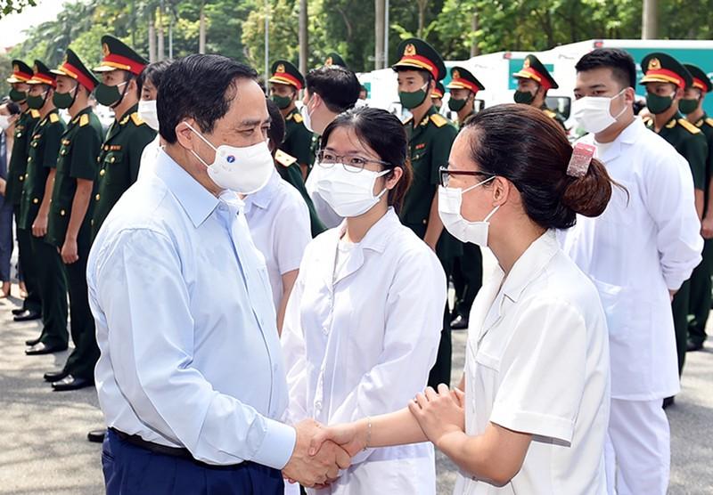 Thủ tướng gửi thư động viên các lực lượng tuyến đầu phòng, chống dịch COVID-19 - ảnh 1