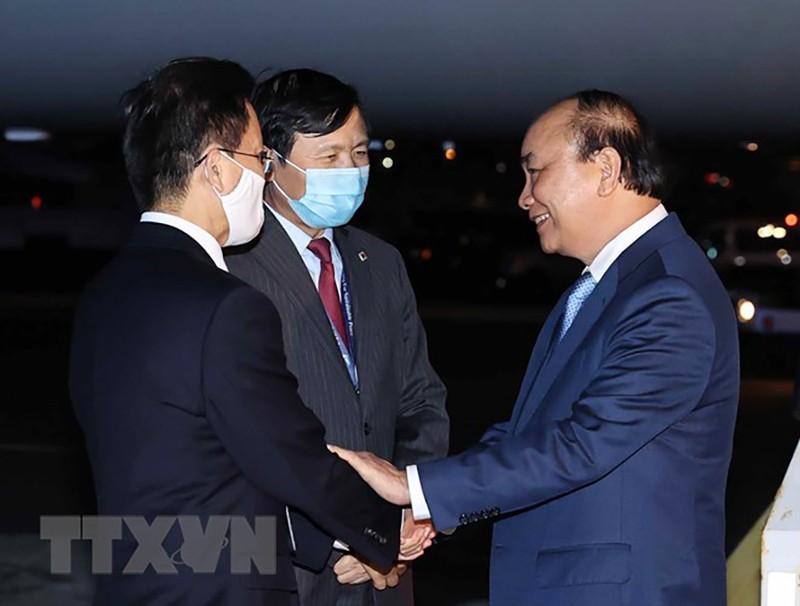 Chủ tịch nước Nguyễn Xuân Phúc đã đến Hoa Kỳ - ảnh 1