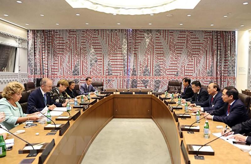 Chủ tịch nước Nguyễn Xuân Phúc gặp lãnh đạo các nước, tổ chức quốc tế - ảnh 2