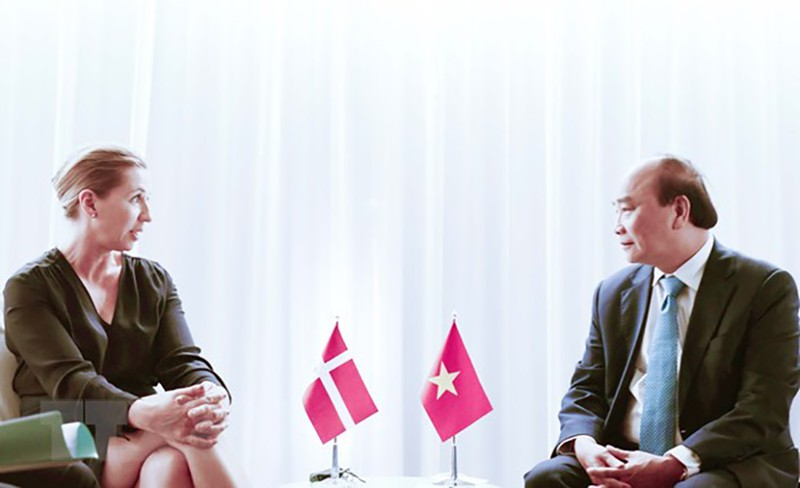 Chủ tịch nước Nguyễn Xuân Phúc gặp lãnh đạo các nước, tổ chức quốc tế - ảnh 3