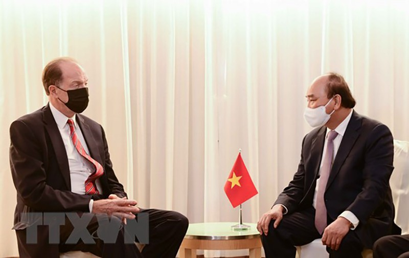 Chủ tịch nước Nguyễn Xuân Phúc gặp lãnh đạo các nước, tổ chức quốc tế - ảnh 5