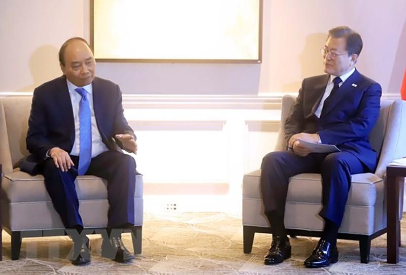 Chủ tịch nước Nguyễn Xuân Phúc gặp lãnh đạo các nước, tổ chức quốc tế - ảnh 1