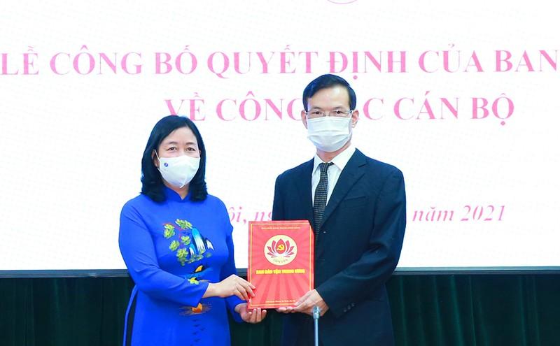 Ông Triệu Tài Vinh giữ chức Phó Trưởng Ban Dân vận Trung ương - ảnh 1