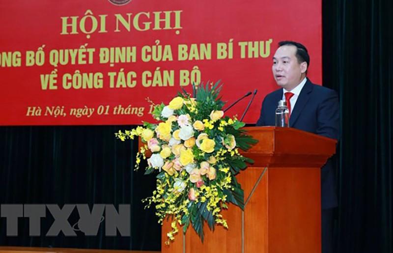 Ông Hồ Xuân Trường làm Phó Bí thư Đảng ủy Khối Doanh nghiệp Trung ương - ảnh 2