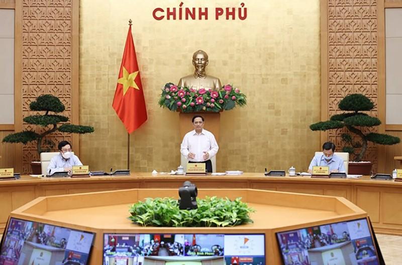 Thủ tướng: Mở cửa có lộ trình an toàn để khôi phục, phát triển kinh tế-xã hội - ảnh 1