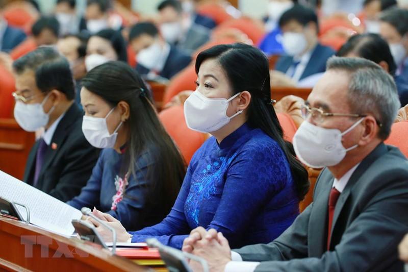 Chùm ảnh: Khai mạc hội nghị lần thứ tư BCH Trung ương Đảng khóa XIII - ảnh 10