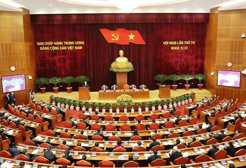 Chùm ảnh: Khai mạc hội nghị lần thứ tư BCH Trung ương Đảng khóa XIII - ảnh 2