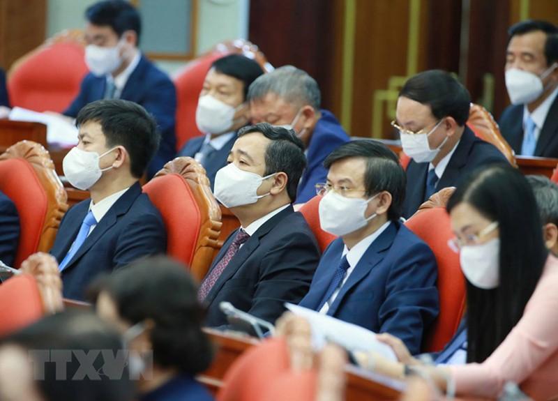 Chùm ảnh: Khai mạc hội nghị lần thứ tư BCH Trung ương Đảng khóa XIII - ảnh 8
